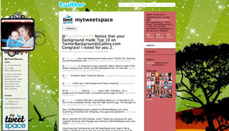 @mytweetspace