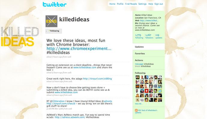 @killedideas